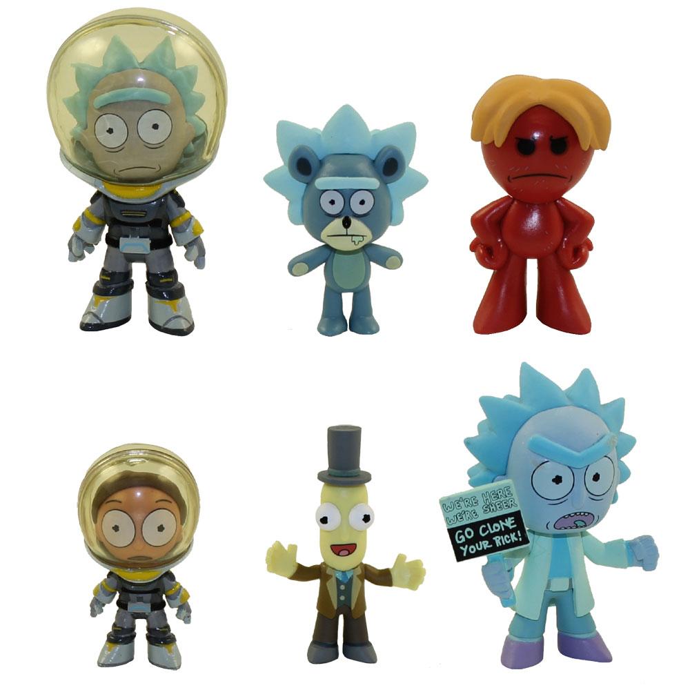 Rick et Morty Funko Mystère Minis Séries 3 Vinyle Figures 1//36 Soins Palliatifs