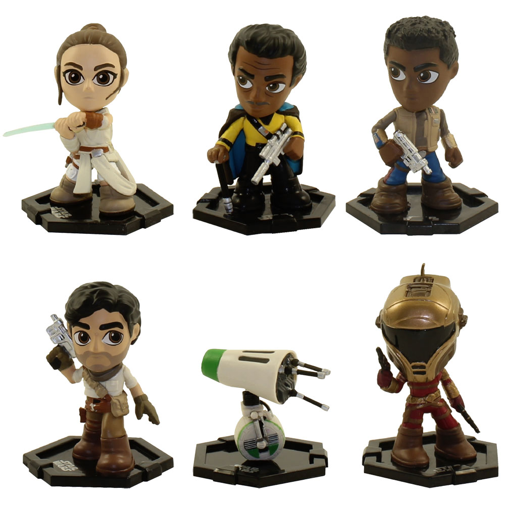 Funko Mystery Minis Vinyl Figures Star Wars The Rise Of Skywalker Set Of 6 Rey Finn Zorii 3 Bbtoystore Com Toys Plush Trading Cards Action Figures Games Online Retail Store Shop Sale