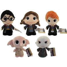 Funko SuperCute Plushies - Harry Potter - SET OF 5 (Harry, Ron, Dobby, Hermione & Voldemort)