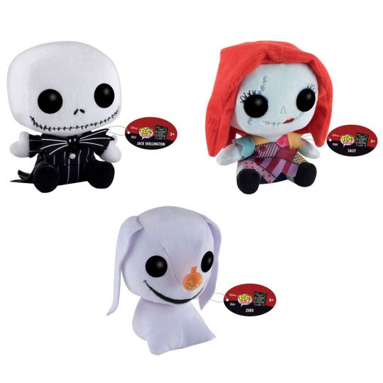 Funko POP! Plush - Nightmare Before Christmas - SET OF 3 (Jack ...