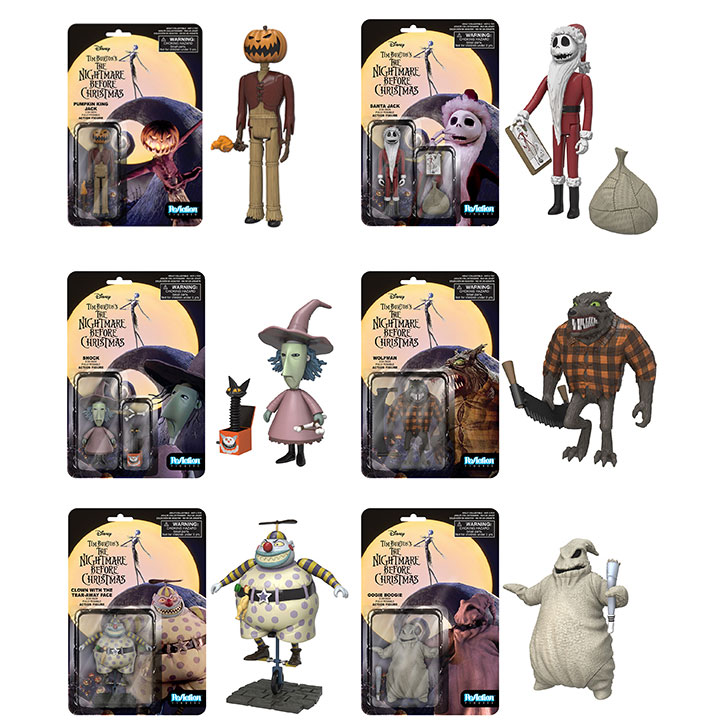 Funko Super 7 - Nightmare Before Christmas Series 2 ReAction ...