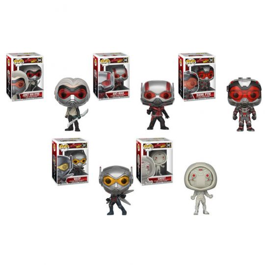 Funko Pop Vinyl Marvel Antman /& The Wasp Ghost #342 Collectable Figure