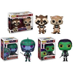 aebb8b12f23 Funko POP! Games - Guardians of the Galaxy Telltale Vinyl Bobbles - SET OF 3