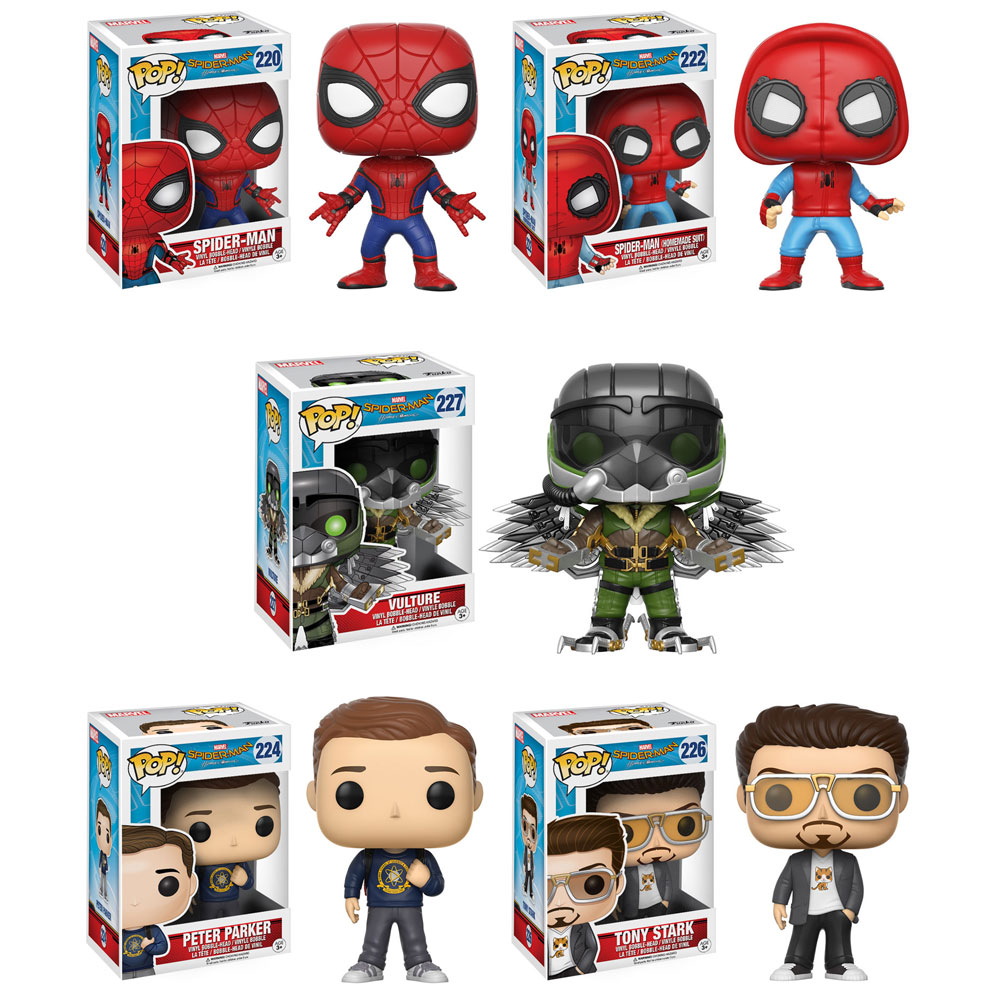 Spider Man Peter Parker In The Lego Incredibles Videogame: Funko POP! Heroes Vinyl Bobble-Heads