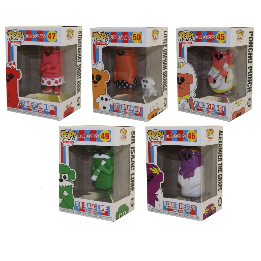 New in Box PONCHO PUNCH #45 Funko POP Otter Pops Vinyl Figure Ad Icons