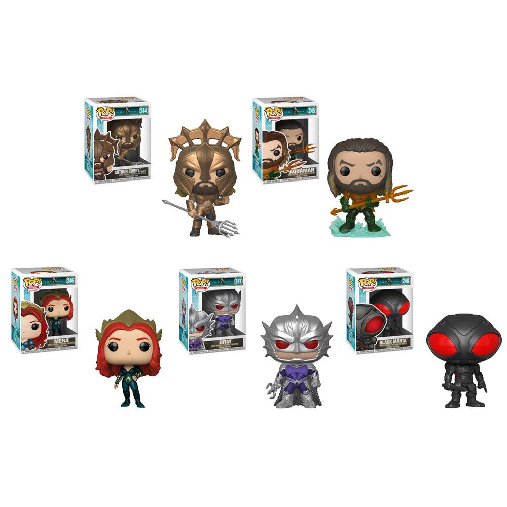 POP Heroes Funko Aquaman Orm Brand New In Box