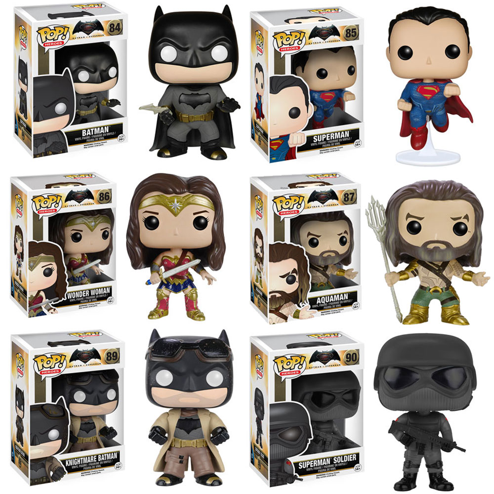 Funko Pop Movies Batman V Superman Vinyl Figures