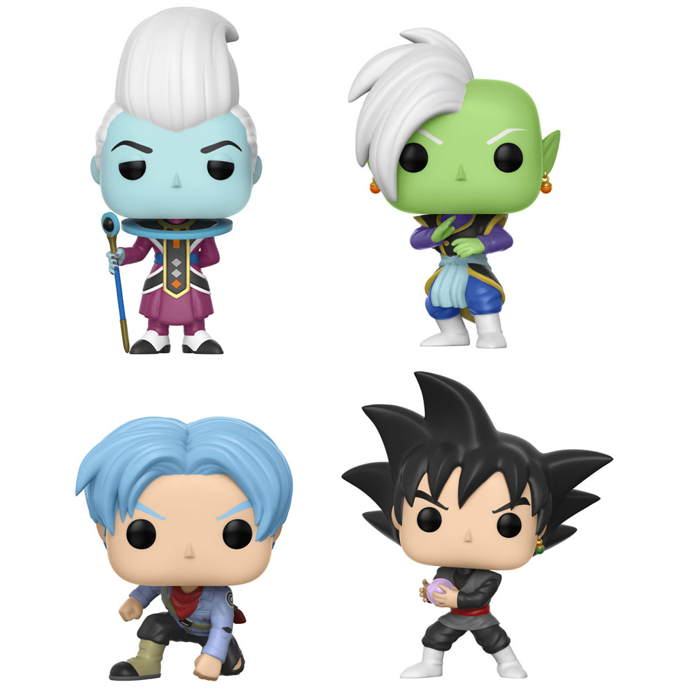 Funko POP! Animation - Dragon Ball Super Vinyl Figures - SET OF 4 (Pre-order Ships January)