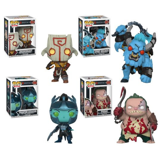 1722d40dbe2 Funko POP! Games - Dota 2 S1 Vinyl Figures - SET OF 4 (Juggernaut ...