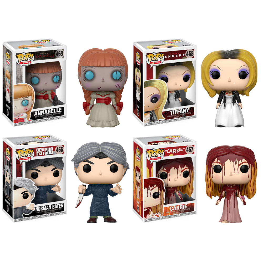 Funko Pop Movies Horror Series 4 Vinyl Figures Set Of