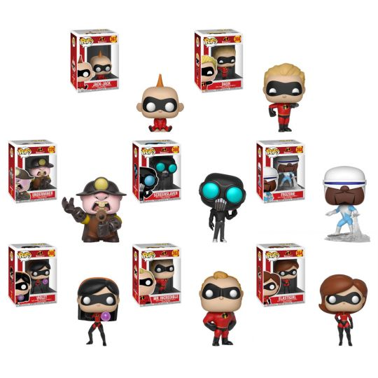 Funko Incredibles 2 Pocket POP Elastigirl Vinyl Figure Keychain NEW In Stock