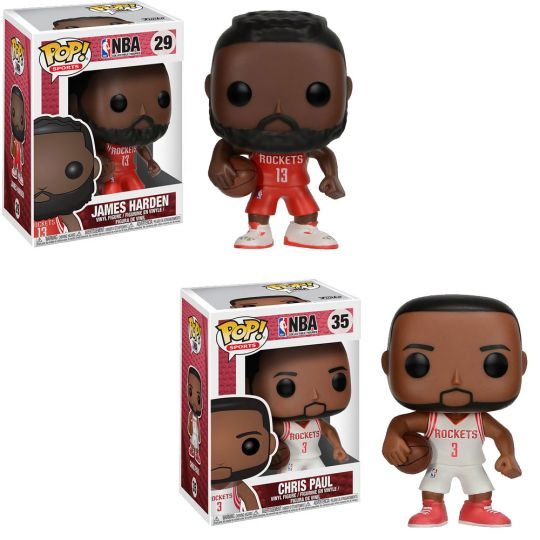 basket-NBA Houston Rockets Vinyl Figure 2-Pack Funko POP