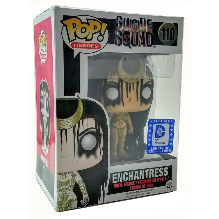 Funko POP! Suicide Squad - Vinyl Figure - ENCHANTRESS *Legion of Collectors Exclusive*