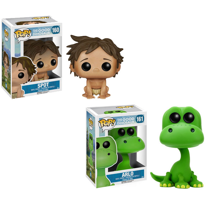 Funko Pop Disney The Good Dinosaur Set Of 2 Arlo