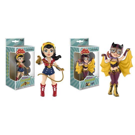 DC Bombshells Wonder Woman /& Batgirl Vynl