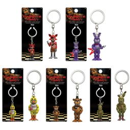 Funko collectible keychain figure five nights at freddy s set of 5