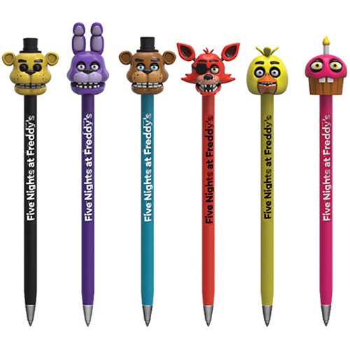 Funko Collectible Pens With Toppers Five Nights At