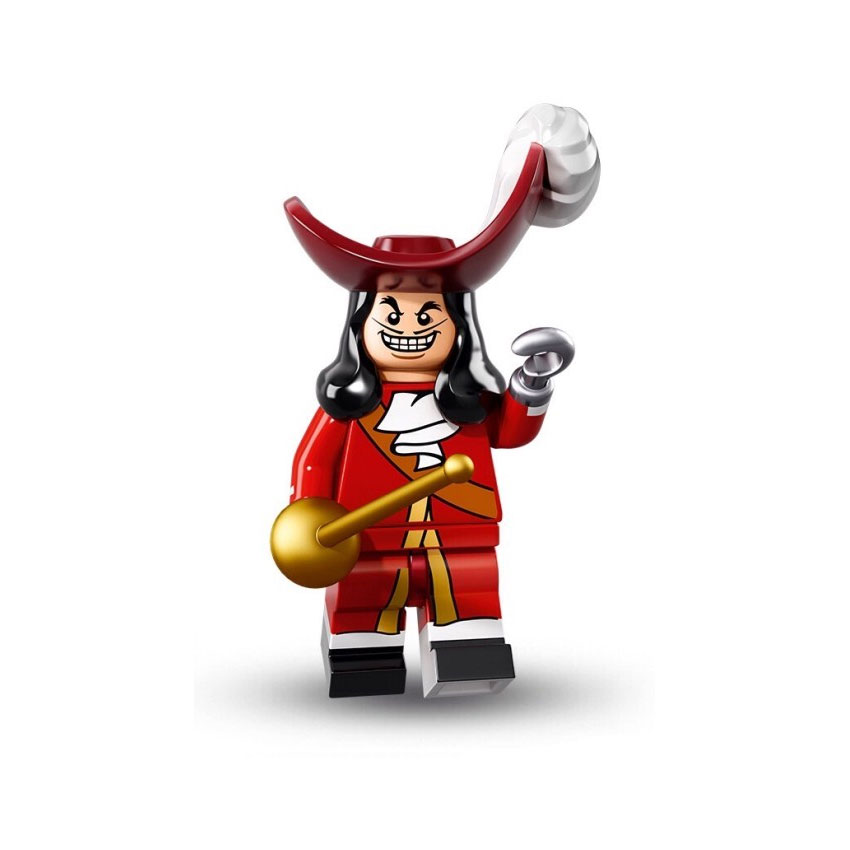 LEGO Minifigure - Disney - CAPTAIN HOOK
