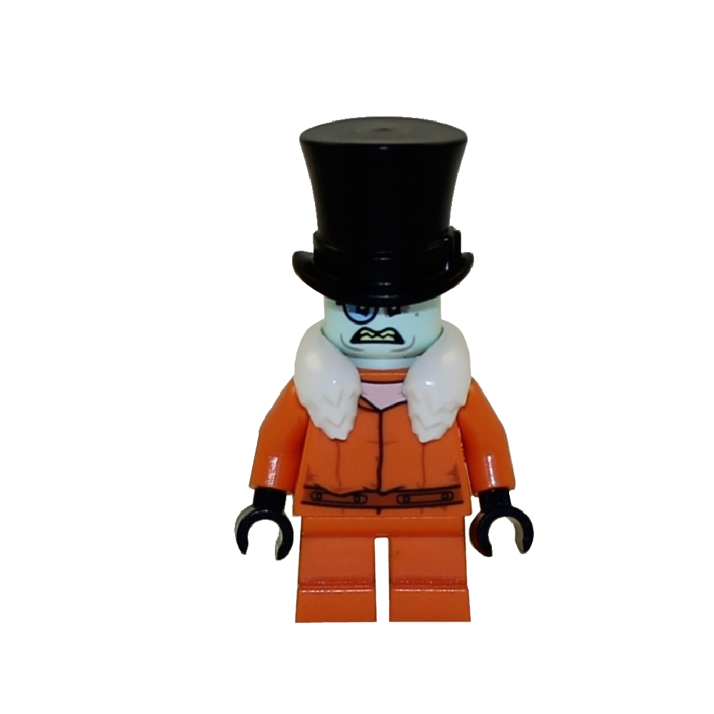 LEGO Minifigure - The LEGO Batman Movie - THE PENGUIN (Arkham Prison Jumpsuit)