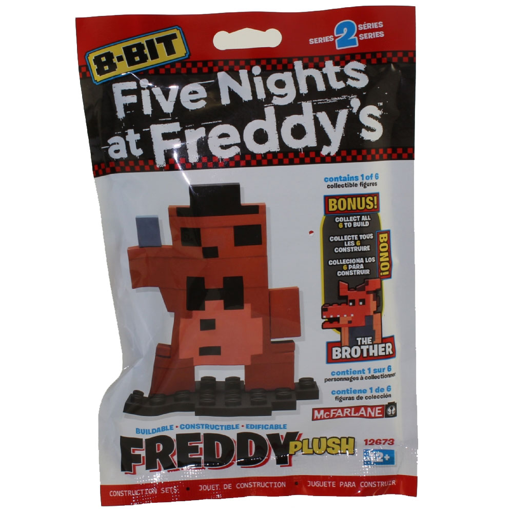Mcfarlane Toys Five Nights At Freddy S 8 Bit Buildable