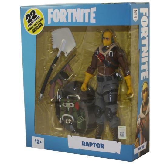 Fortnite Raptor McFarlane Toys Action Figure
