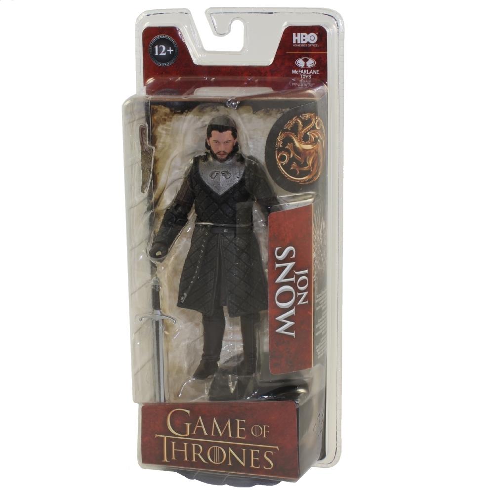 In STOCK Mcfarlane Toys Game of Thrones GOT Jon Snow Action Figure