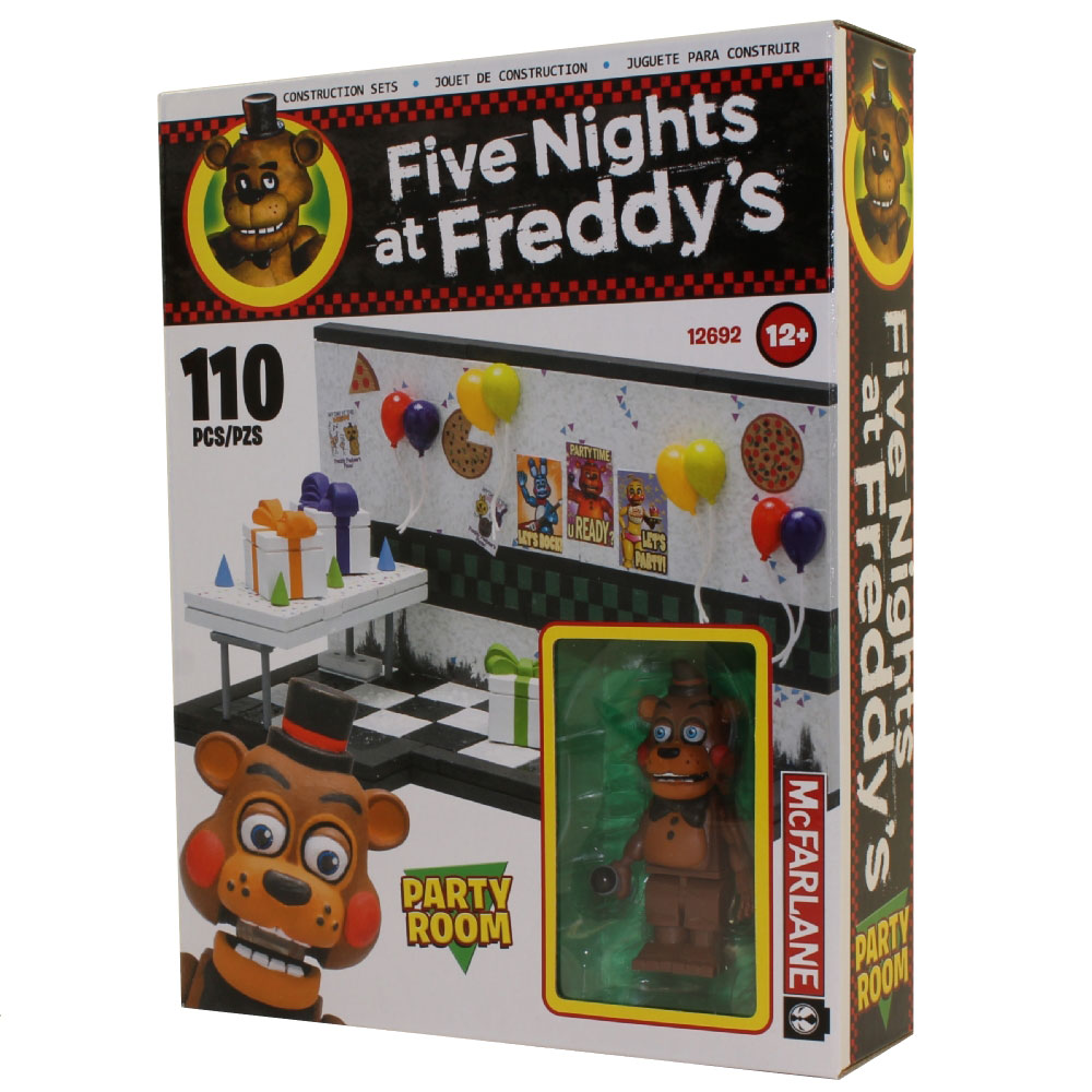 5 Nights At Freddys Toys For Sale - Mcfarlane toys building small sets five nights at freddy s toy freddy party room