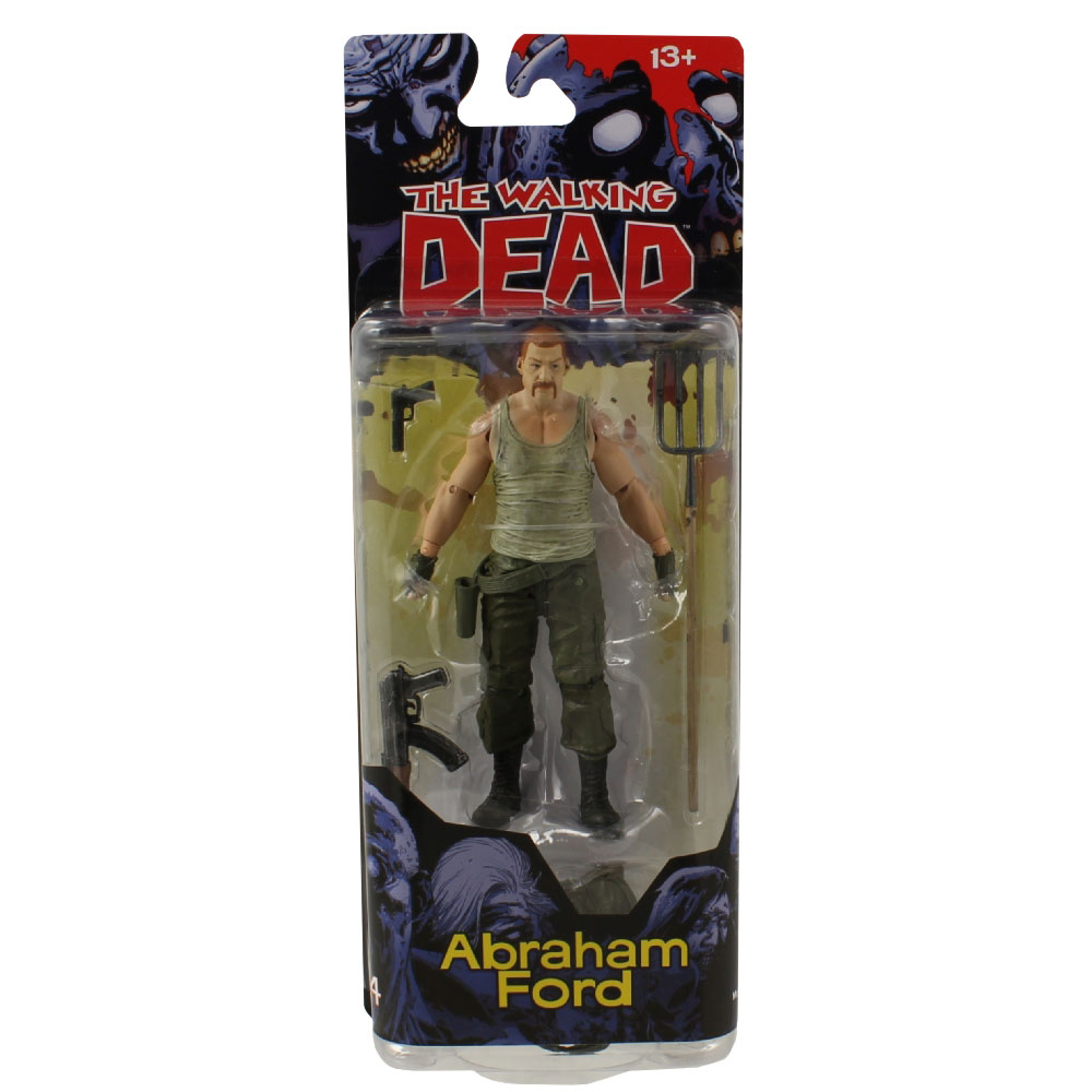 mcfarlane toys action figure the walking dead comic book. Black Bedroom Furniture Sets. Home Design Ideas