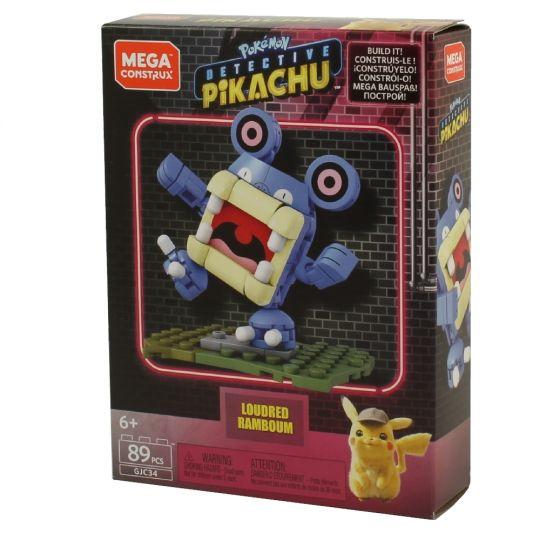 MEGA Construx - Pokemon Detective Pikachu Set - LOUDRED (89 Pieces)
