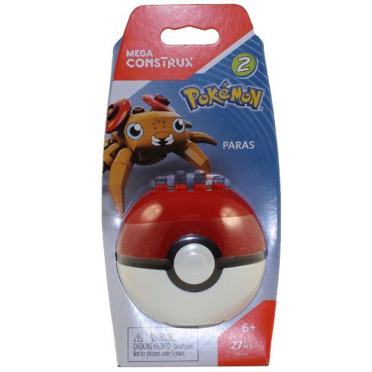 MEGA Construx - Pokemon Pokeball Set - PARAS (27 Pieces)