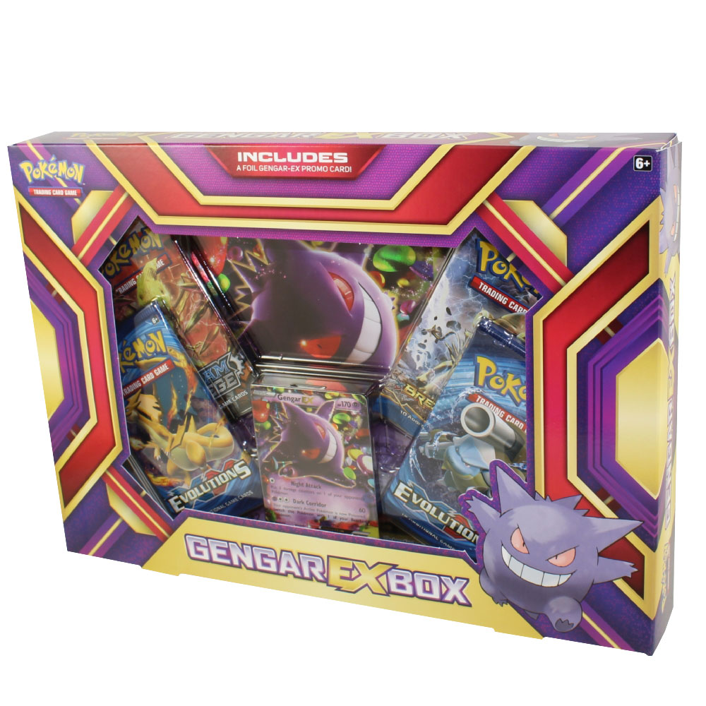 Toys For Cards : Pokemon cards gengar ex box holo jumbo