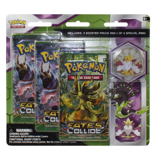 Pokemon Cards Blister 3 Packs With Pin Mega Alakazam Bbtoystore