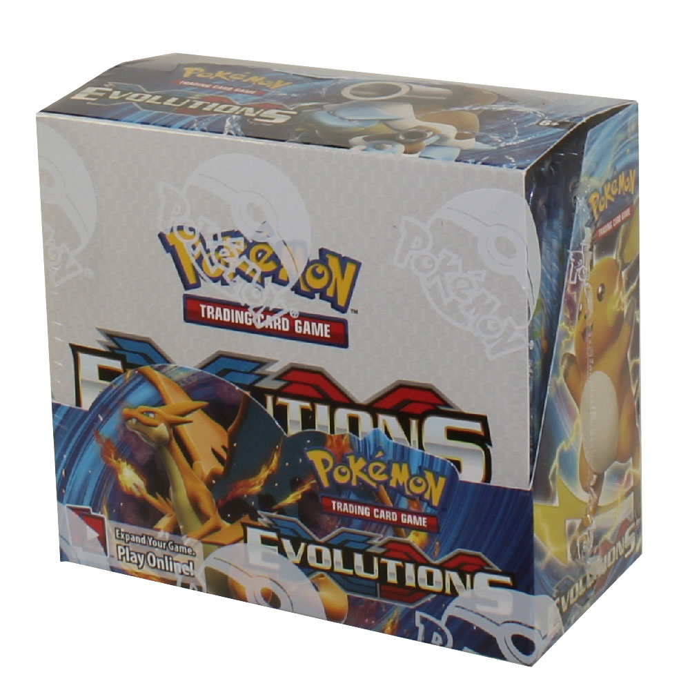 Pokemon Cards Xy Evolutions Booster Box 36 Packs