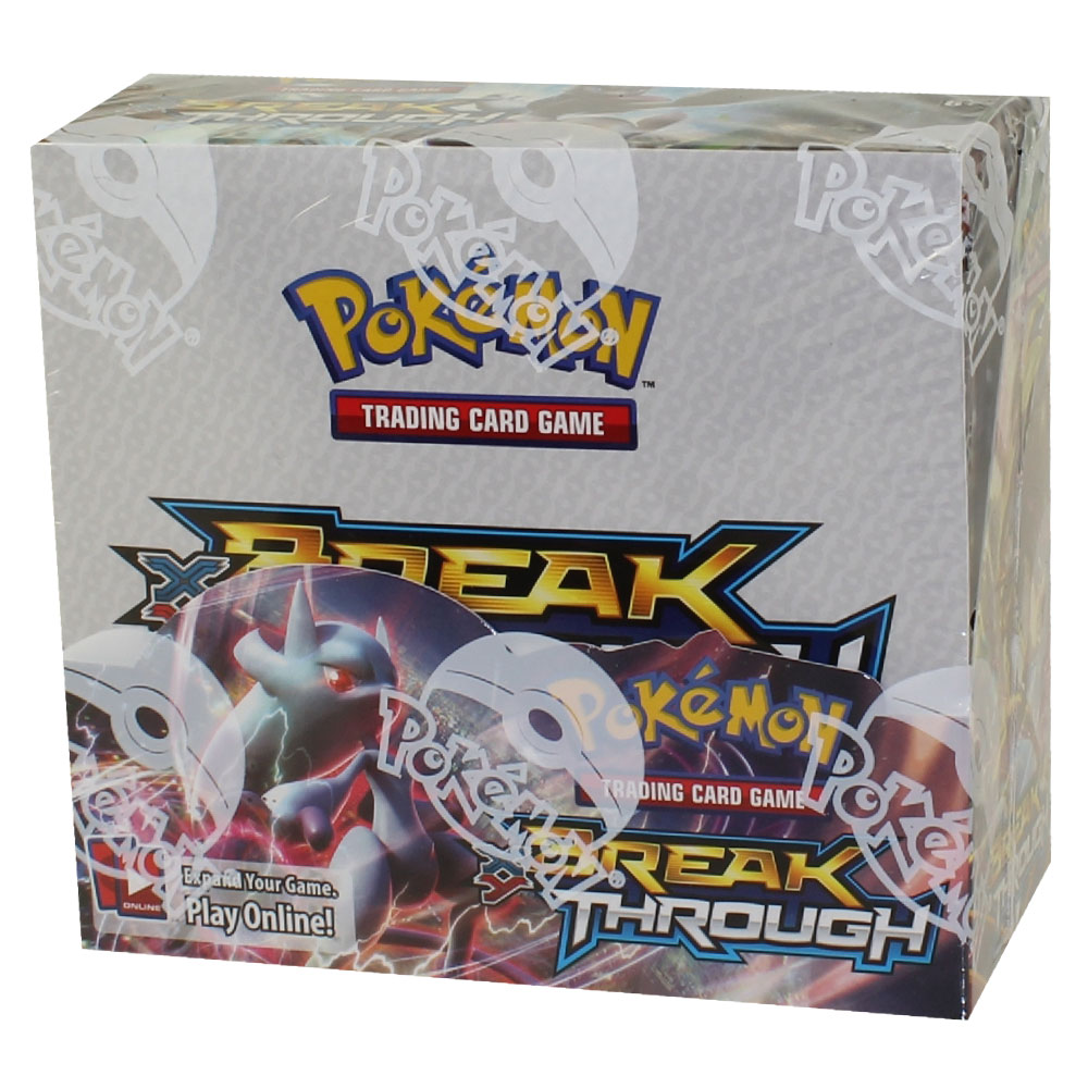 Pokemon Cards Xy Breakthrough Booster Box 36 Packs