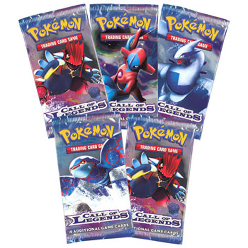 Pokemon Cards - CALL OF LEGENDS - Booster Packs (5 pack lot)