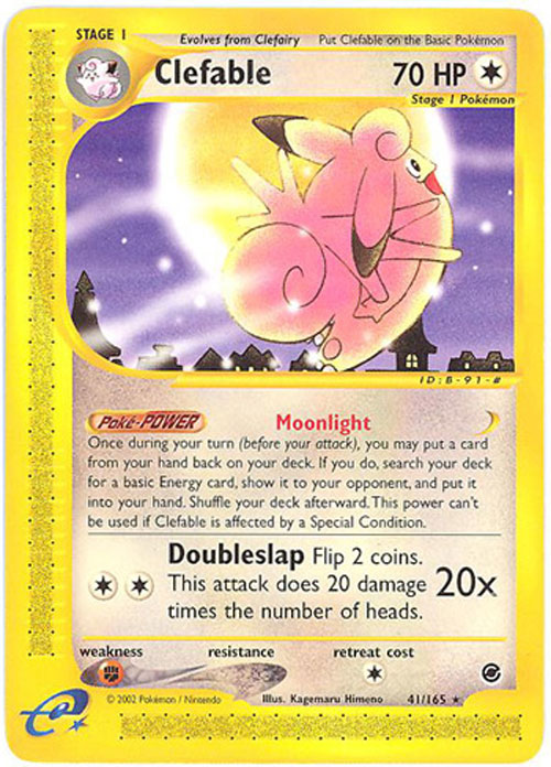Clefable Pokemon Card Images