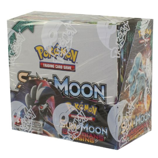 Pokemon Cards Sun Moon Guardians Rising Booster Box 36 Packs