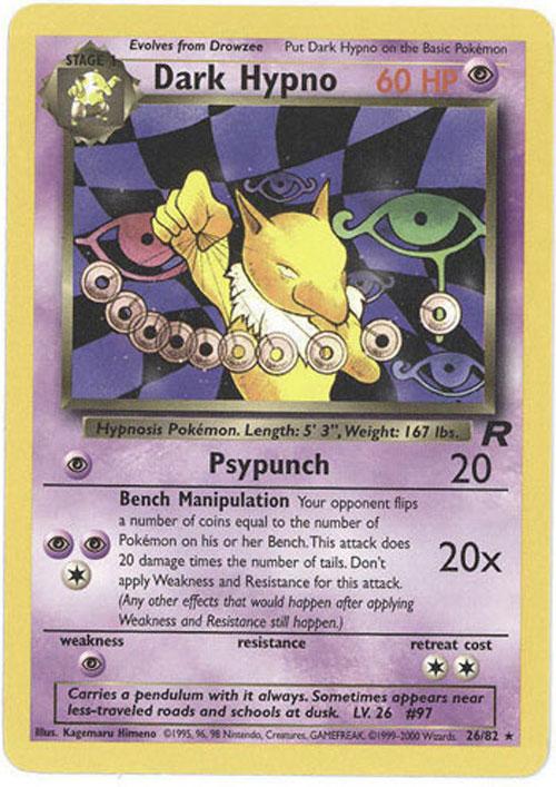 Rocket Pokemon Cards Pokemon Card Team Rocket