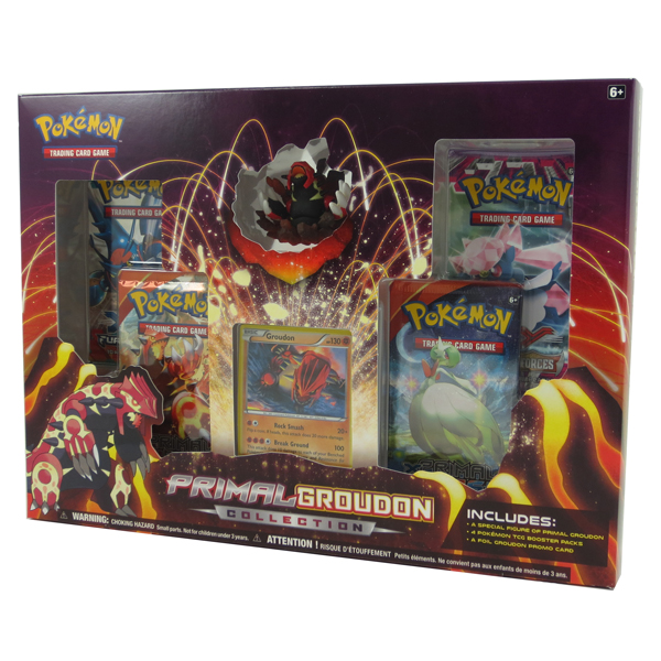 Pokemon Cards Primal Groudon Collection 1 Foil 1