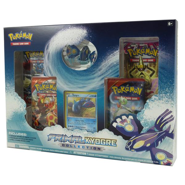 pokemon cards primal kyogre collection 1 foil 1 figure