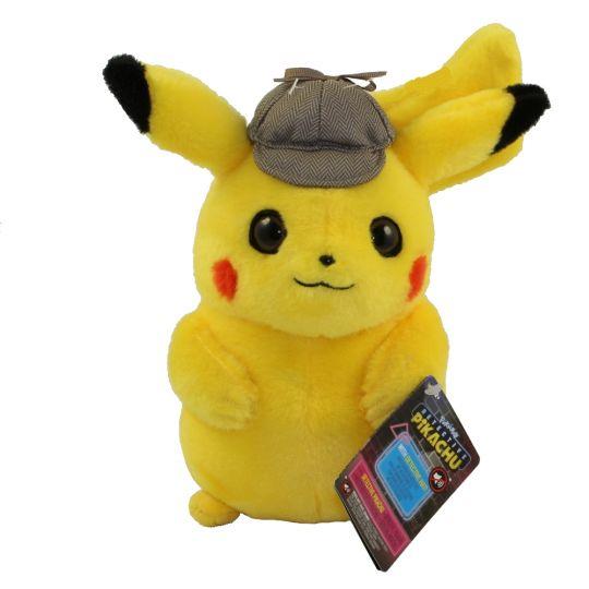Wicked Cool Toys - Pokemon Detective Pikachu Plush - DETECTIVE PIKACHU (8  inch)