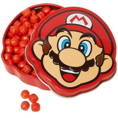 Boston America - Candy Tin - SUPER MARIO (Brick Breakin' Jawbreakers)