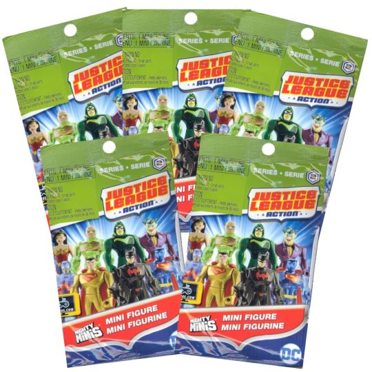 LEX LUTHOR Blind Bag SEALED Mighty Minis Justice League Mini Figure