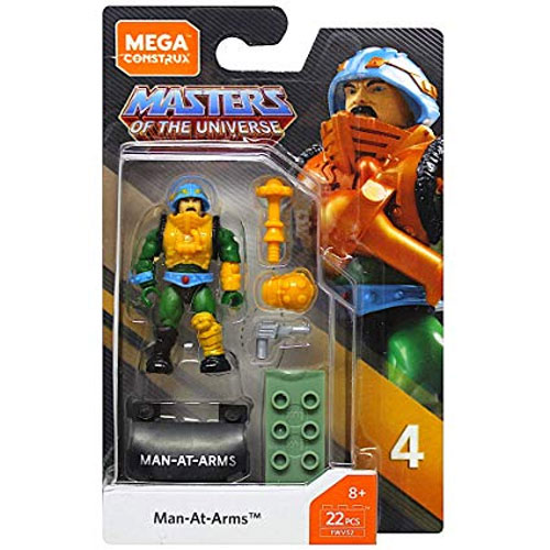 Mega Construx Heroes MAN-AT-ARMS Figure Series 4 Masters of the Universe