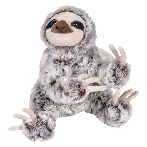 Adventure Planet Plush Animal Den Sloth White Frosted