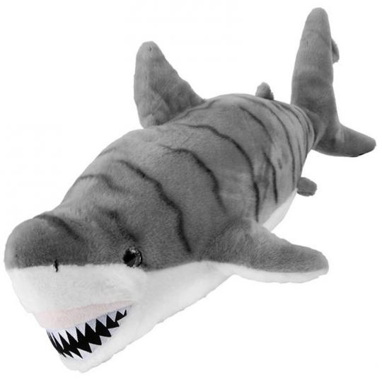 Adventure Planet Plush Cotton Candy Grey Striped Great White Shark