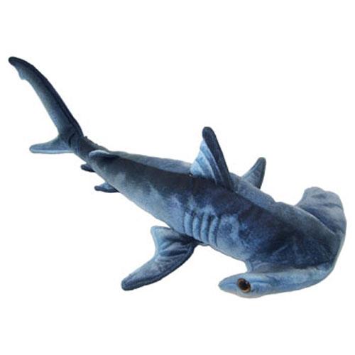 Shark Toys And Games : Adventure planet plush printed hammerhead shark