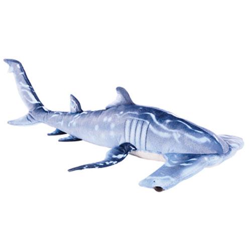 Adventure Planet Plush - BLUE HAMMERHEAD SHARK (Printed ...