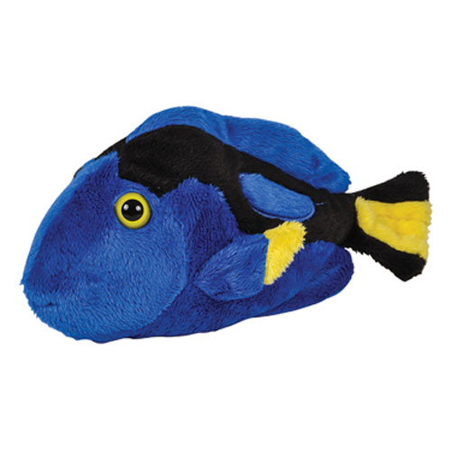 Adventure planet plush pal blue tang 7 5 inch for Air swimming fish