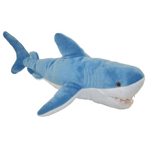 Shark Plush Toys : Adventure planet plush blue shark inch